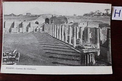 Gut Postkarte Ansichtskarte Italien Pompei Caserma Dei Gladiatori