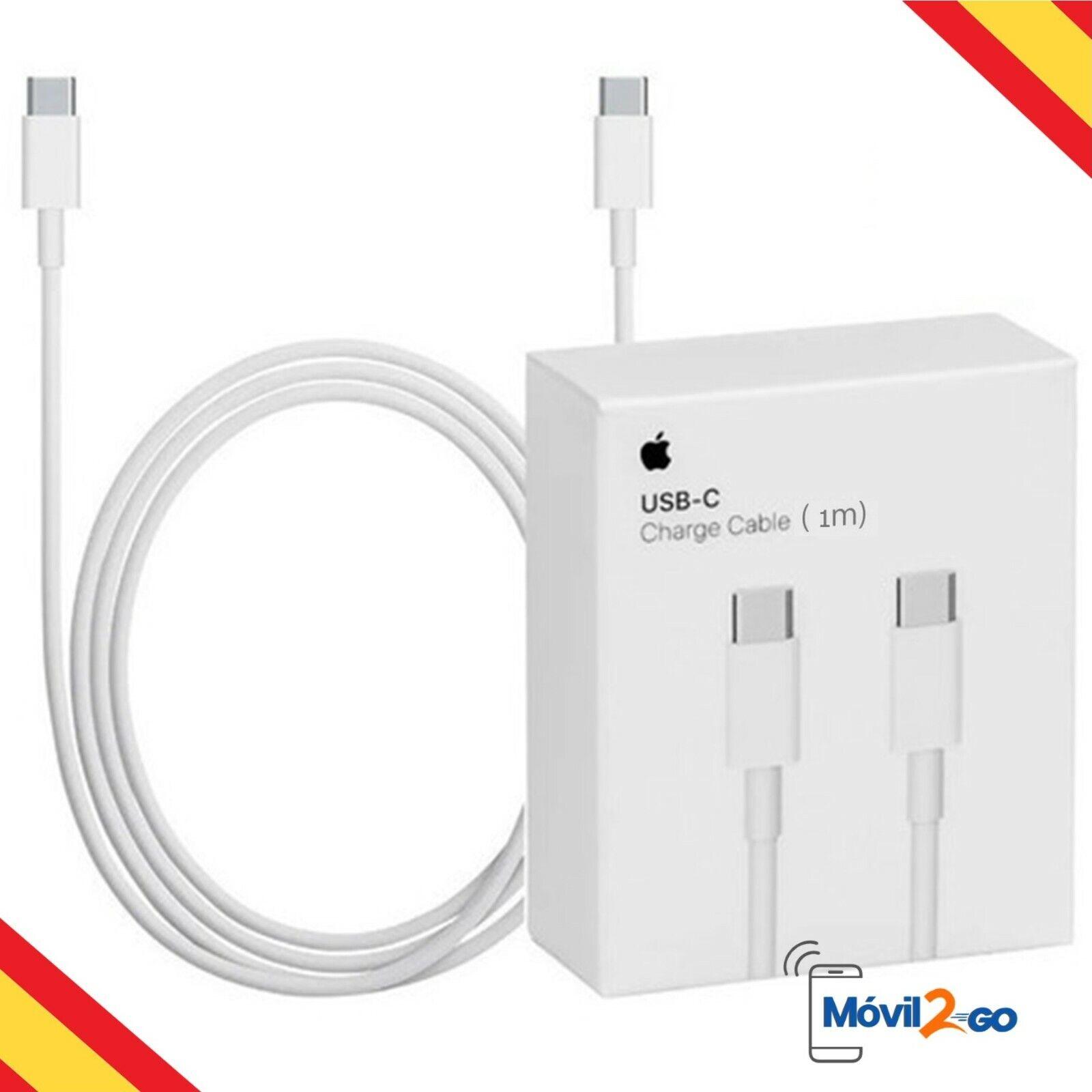 Cable Apple MUF72ZE/A de USB-C a USB-C 1 Metro Caja Retail Nuevo