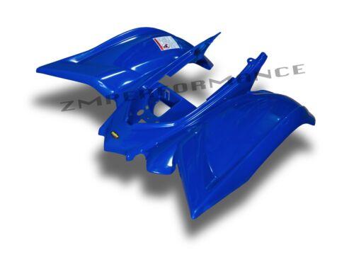 NEW YAMAHA RAPTOR 700 06-18 DARK BLUE PLASTIC REAR FENDER PLASTICS