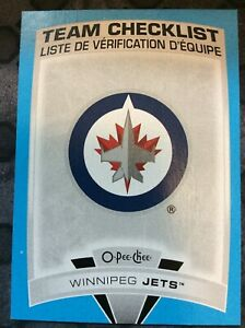UD-O-Pee-Chee-2019-2020-WINNIPEG-JETS-CHECKLIST-BLUE-BORDER-HOCKEY-CARD-581