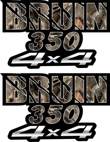 Bruin 350 4x4 Camo Gas Tank Graphics Decals Sticker Atv Quad 250 2x4 Fender