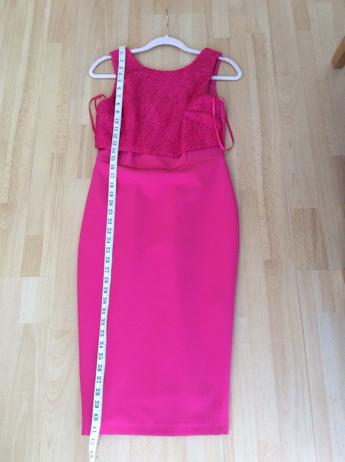 Coast Stunning Cerise Pink Dress Size 10