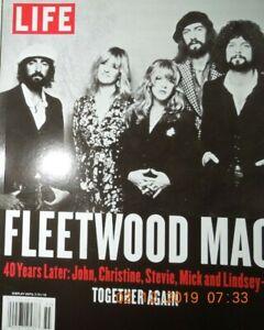 FLEETWOOD MAC 40 yrs later STEVIE NICKS lindsey buckingham MICK john mcvie
