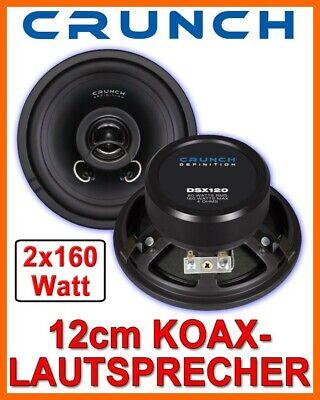 Crunch dsx5.2c définition 2 Voies Composants Haut-parleurs Car Speaker 160 W 130 mm