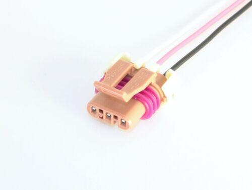GM E85 Flex Fuel Sensor Connector Pigtail Metal Body Fuel Composition Ethanol
