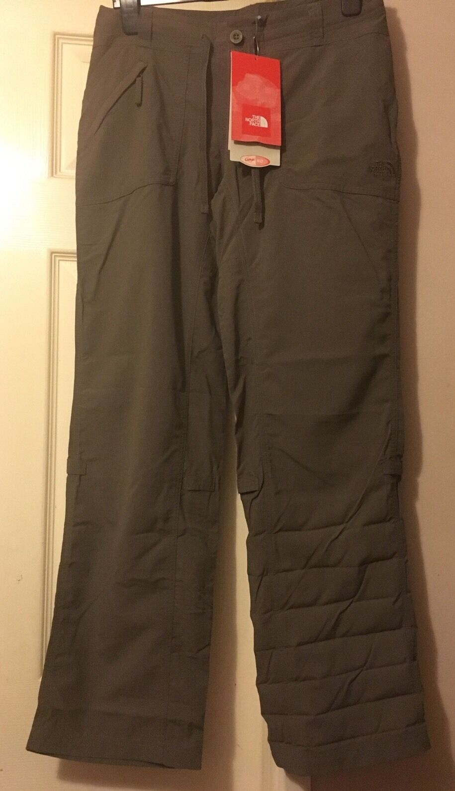 The North Face Horizon Tempest Brown Turn-up Trousers Small Hiking BNWT