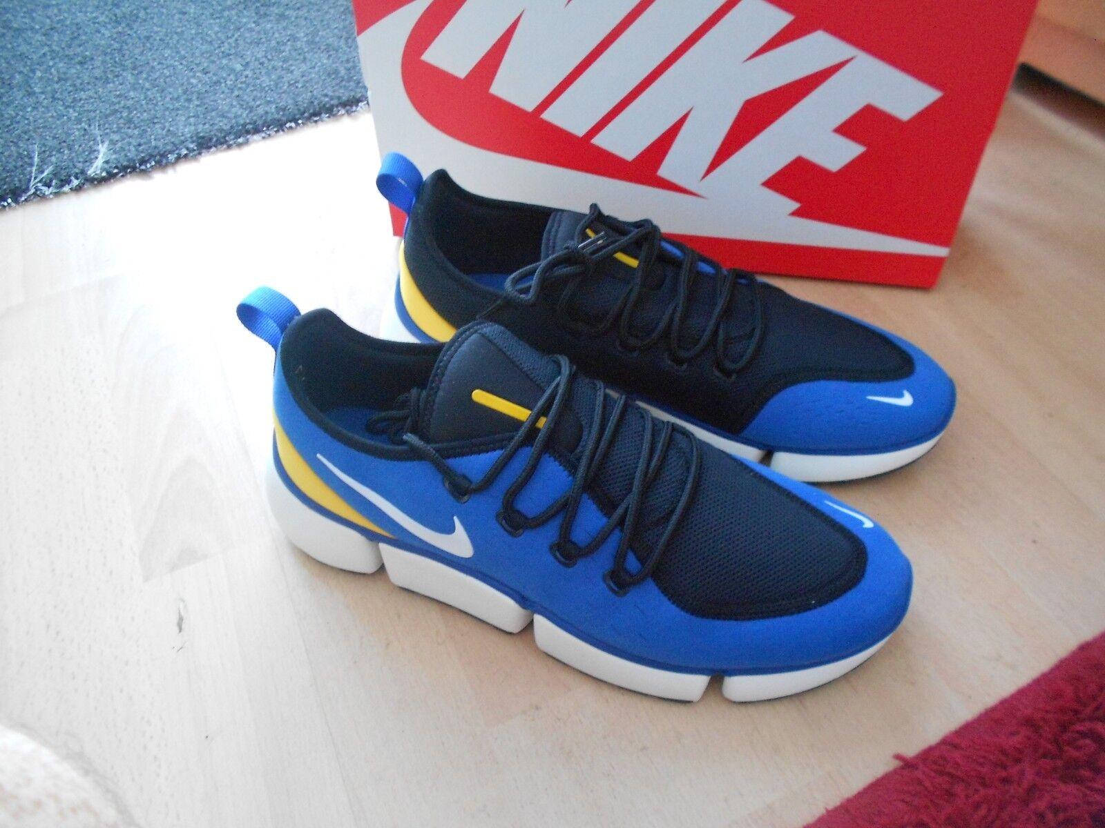BNWB  Nike Bolsillo Volar dm Talla 10-Azul, blancoo, Negro, de Color amarillo  buen precio