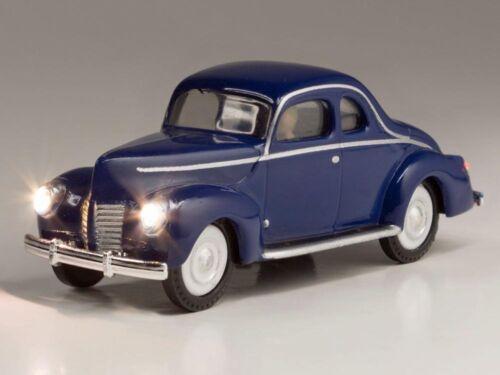 Woodland WJP5598 H0 PKW Blue Coupe beleuchtet Just Plug Lighting System