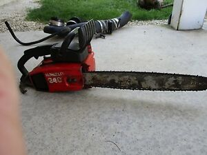 Vintage homelite 240 chainsaw chain saw been in storage good image is loading vintage homelite 240 chainsaw chain saw been in greentooth