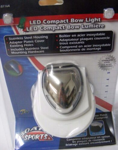 LED Combo Bow Light Combination Boater Sports 51164 MD