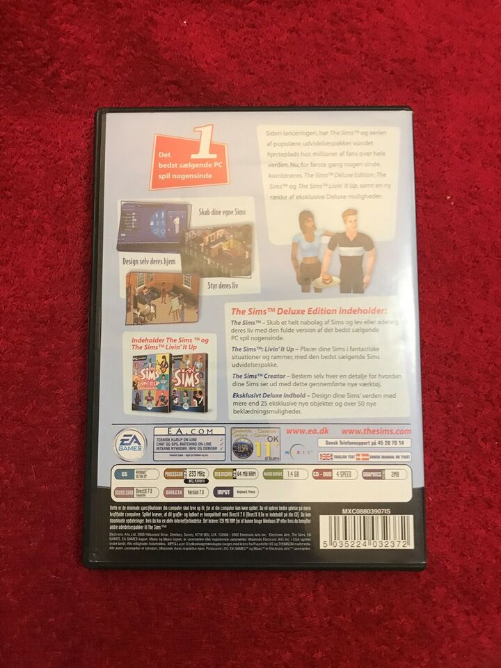 The Sims Deluxe Edition , til pc, anden genre