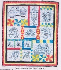 Gardener-039-s-Delight-pieced-and-stitchery-wall-quilt-PATTERN-Bobbie-G