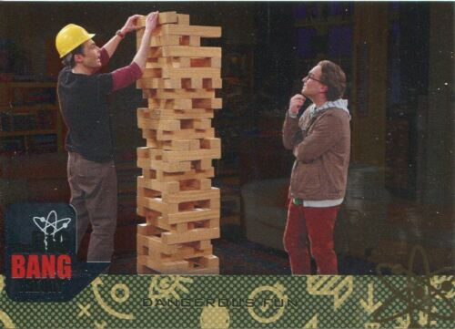 Big Bang Theory Seasons 6 /& 7 Silver Parallel Base Card #19 Dangerous Fun