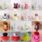 Puppy Dog Cat Bow Tutu Dress Lace Skirt Pet Dog Princess Costume Apparel Clothes