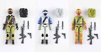 Redlasersarmy Gi Joe Custom Steel Brigade Sky Patrol Night Force Tiger Force Set