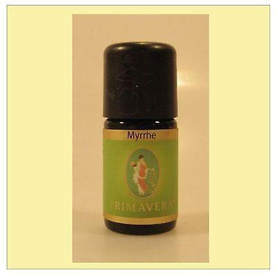 Primavera Myrrhe Öl 100% naturreines ätherisches Myrrhenöl 5 ml