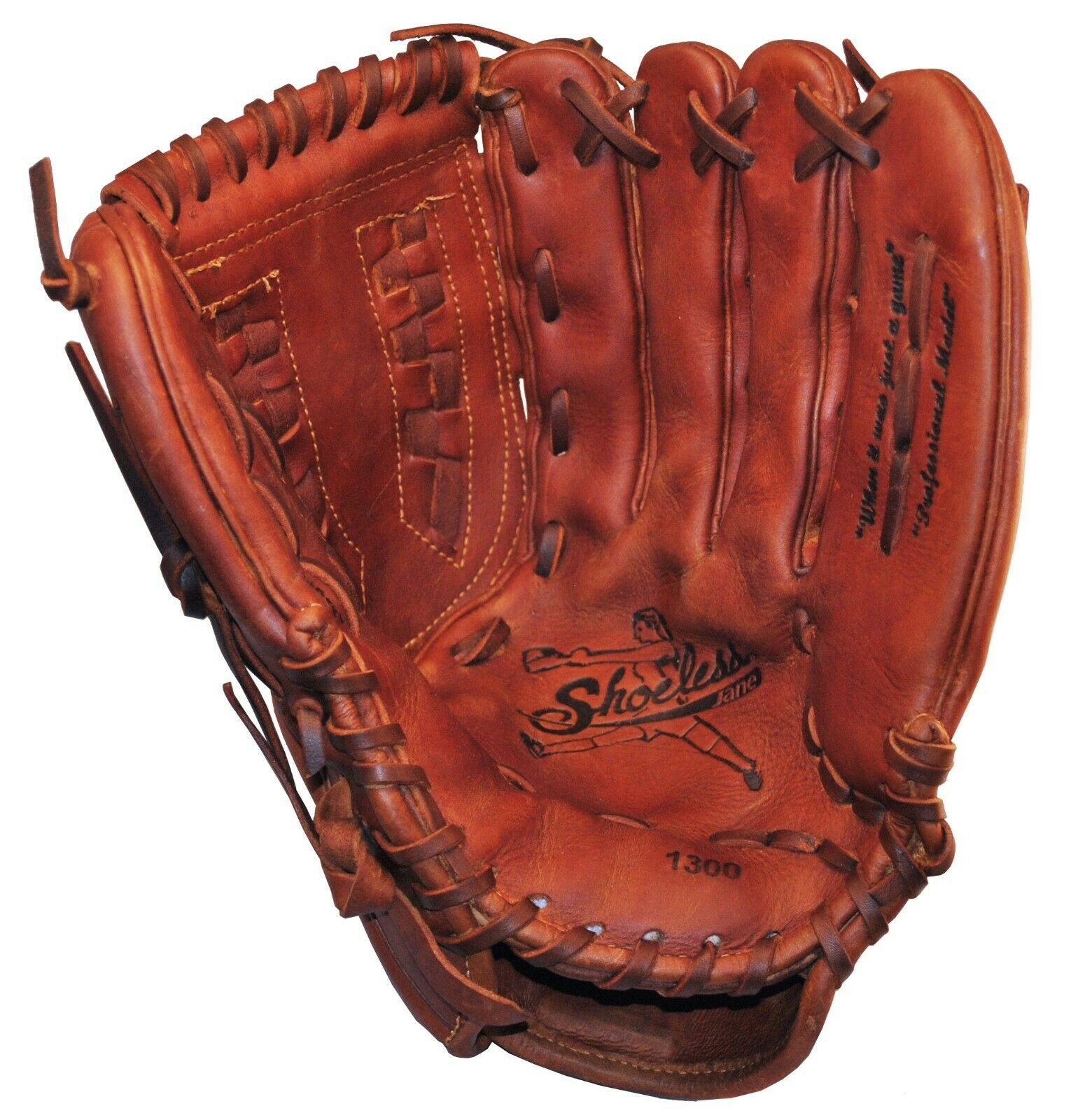 "Shoeless Jane 13/"" Fastpitch Softball Glove 1300FPBW"