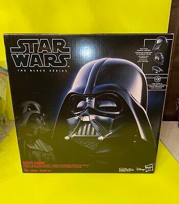 Brand new WOW Star Wars The Black Series Darth Vader Premium Electronic Helmet