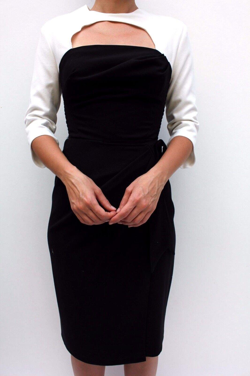 Bombshell Katya Wildman Mono Crepe Moss Office Occasion Pencil Dress Dress Dress 8 36 New | Hohe Qualität Und Geringen Overhead  | Elegante Und Stabile Verpackung  ace171