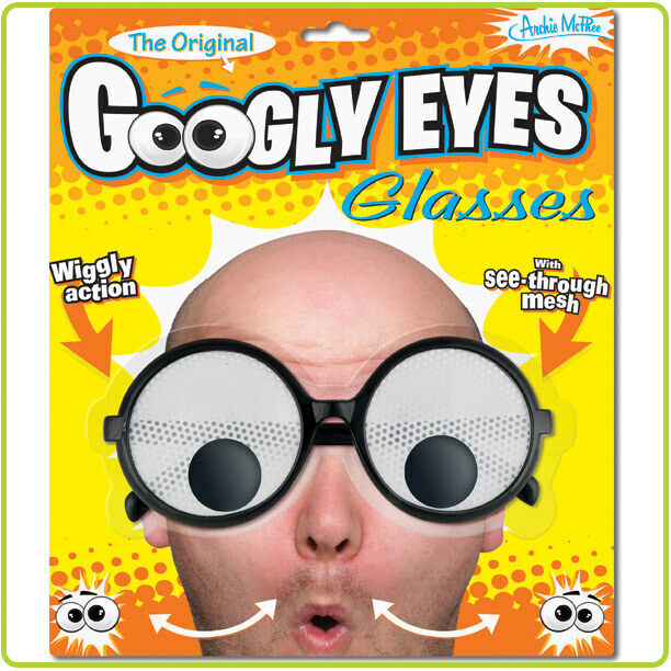 googly eye glasses by accoutrements 12386 ebay