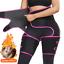 High 3in1 Waist Thigh Body Shaper Trimmer Trainer Butt Lifter Slimming Burn Belt
