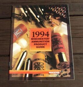 Bien éDuqué Winchester Munitions Product Guide ~ 1994 Gun Brochure Catalogue ~ 12 Pages-afficher Le Titre D'origine