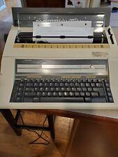 Vtg Nakajima Ae 580 Electronic Typewriter With Memory Display Tested Amp Works
