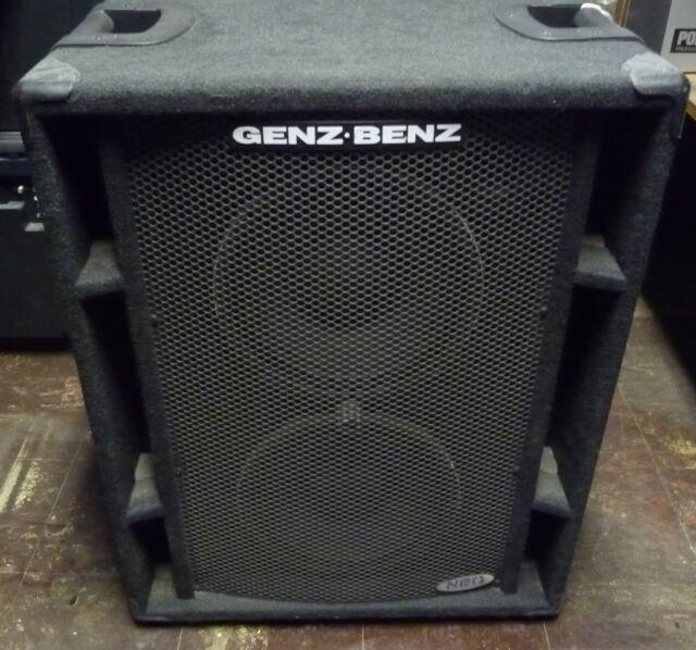 Genz Benz Neox 210t High Effeciency 450 Watt Bass Cabinet
