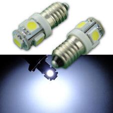 MG MGA MGB MGC MIDGET E10 MES 5SMD LED Bulb x4 Instrument//Dash Upgrade Set Green