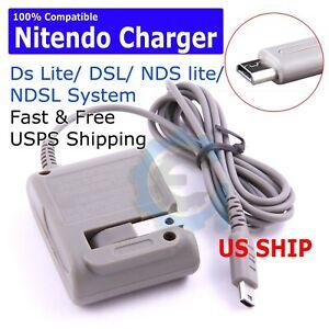 Adaptador-de-corriente-alterna-Casa-Pared-Cargador-Cable-Para-Nintendo-Ds-Lite-DSL-NDS-Lite-NDSL-Usa