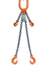 Chain Sling 516 X 5 Double Leg With Sling Hooks And Adjusters Grade 100
