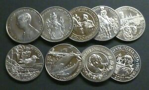 St-Helena-Crown-Sized-Fifty-Pence-50p-Coins-Commemorative-See-Drop-Down-Menu