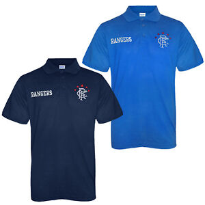 Image is loading Rangers-FC-Official-Football-Gift-Mens-Crest-Polo- a2270c7f8
