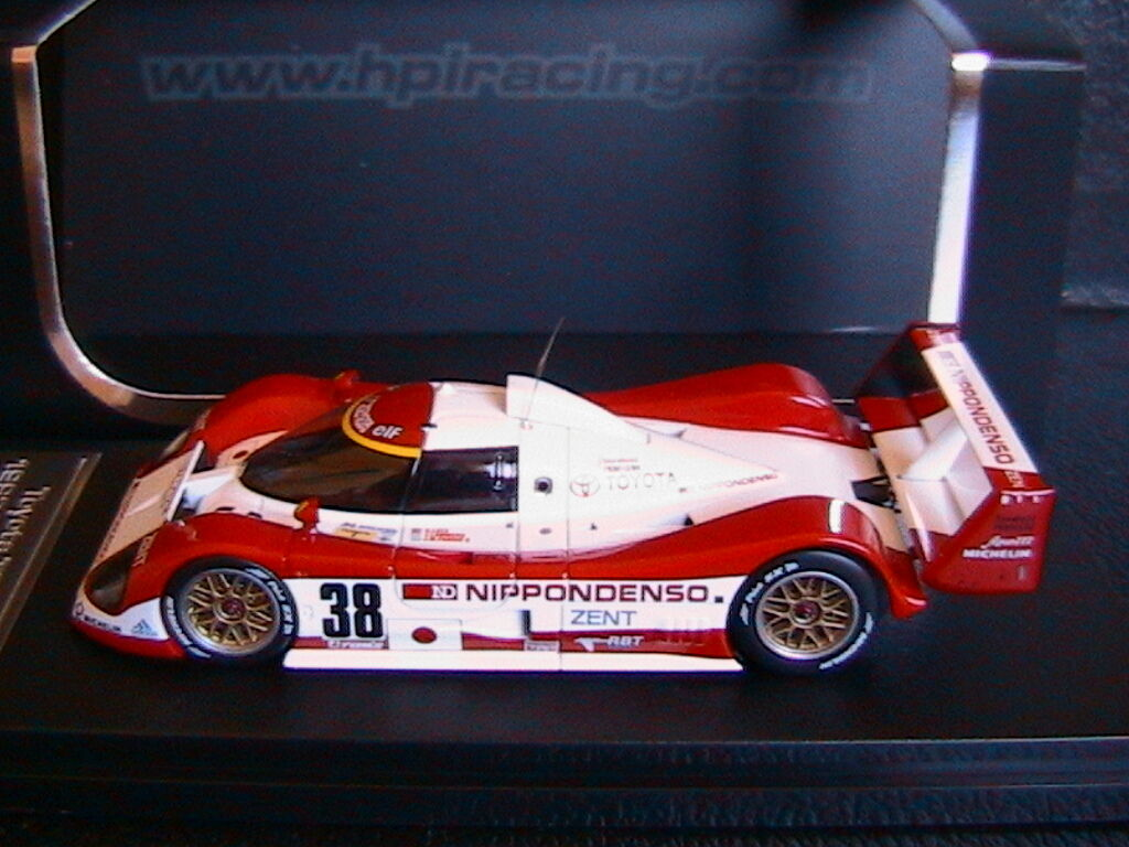 TOYOTA TS010  38 24 24 24 HOURS LE MANS 1993 LEES LAMMERS FANGIO HPI 8569 1/43 NIPPON d8f31d