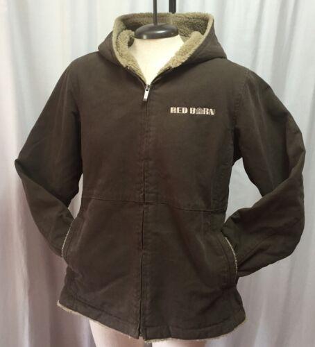 9048 Rugged Jacket Dri Duck Canvas Work Med Boulder Sherpa Frakke Roper Kvinder IqxEYw
