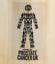 Prostate Cancer UK Transparent Cricket Bat Sticker