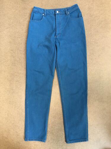 Eckhaus Latta Dark Teal High Waist Jeans 29
