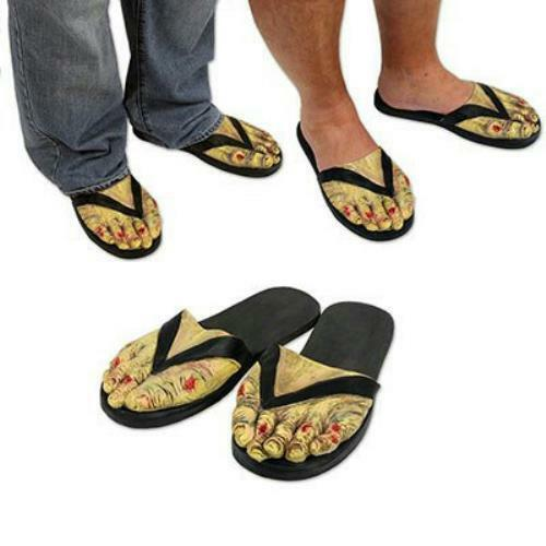 Zombie Feet Slippers Costume Accessory
