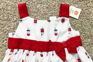 Gymboree-Baby-NWT-Infant-Toddler-Popsicle-Dress-NWT-18-24m
