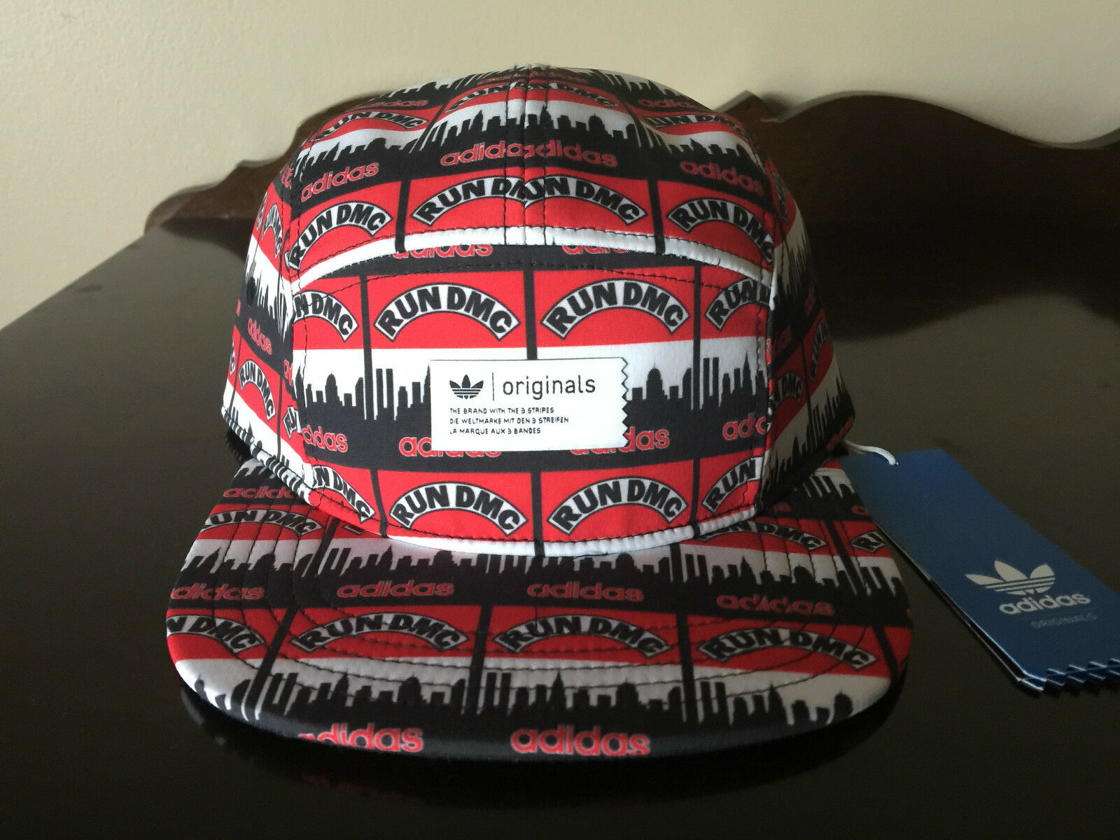 Adidas Hat Run DMC 5 Panel Hat Adidas Brand New with Tags OSFA 389e71