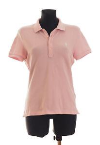 Detalles de Ralph Lauren GOLF para mujer de manga corta rosa pálido Camisa Polo Tamaño grande * Delgado * ver título original