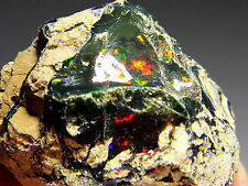 82.3 ct New Found Natural Black Opal Rough, Ethiopia! Opal280