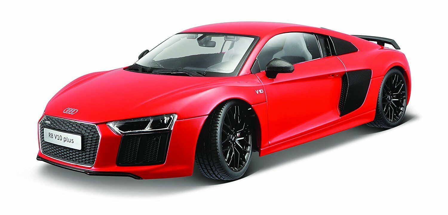 Maisto 1 18 Exclusive Audi R8 V10  rouge Diecast Model Racing voiture Vehicle Toy NIB  distribution globale