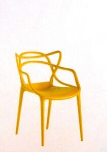 4 sedie design in polipropilene per esterno e interno for Sedie design foto