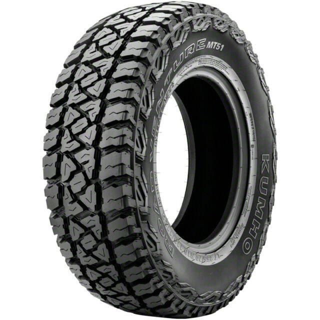 31x10 50r15 Tires >> 4 Kumho Road Venture Mt51 Lt 31x10 50r15 109q C 6 Ply M T Mud Tires