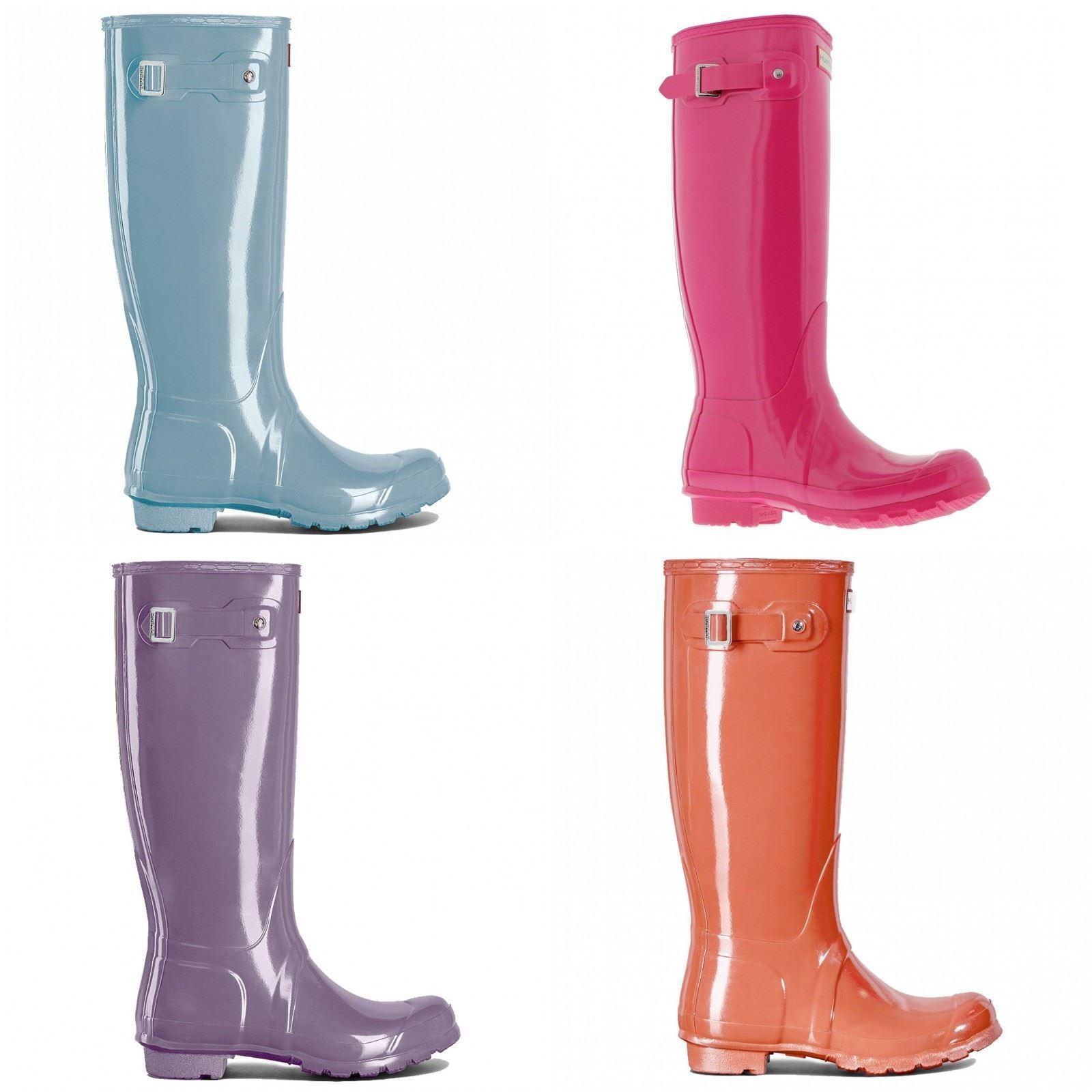 Hunter Original Tall Gloss Gloss Tall Womens Boots 765b52