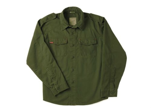 Olive Drab Ultra Force Vintage BDU Fatigue Long Sleeve Shirt 2568 Rothco