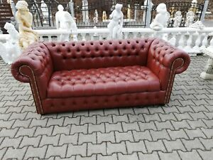 Chesterfield Sofa Couch Pads Set 3 Seat Sofas Classic ...
