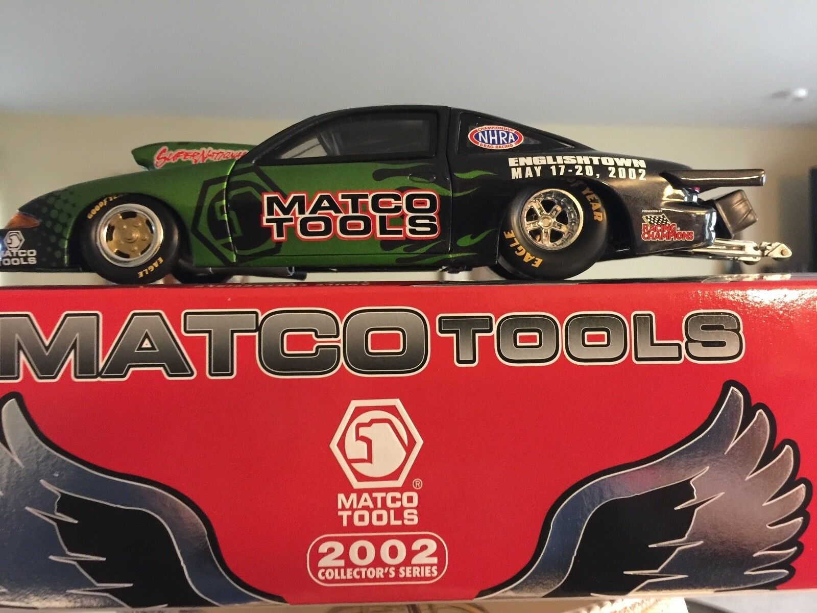 2002 Super Nationals ingleseTown Matco strumentos Collectors Series