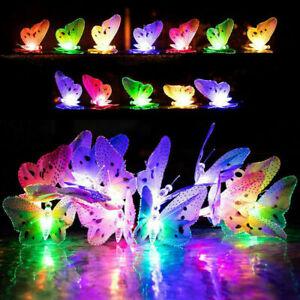 12/20 LED Solare Farfalla fibra ottica FAIRY stringa luci giardino esterni